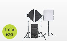 Continuous Softbox Lighting hire