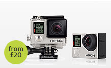 GoPro hero 4 Black Edition Hire