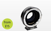 Metabones EF to micro four thirds adapter