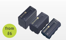 Sony Infolithium L Series Battery hire